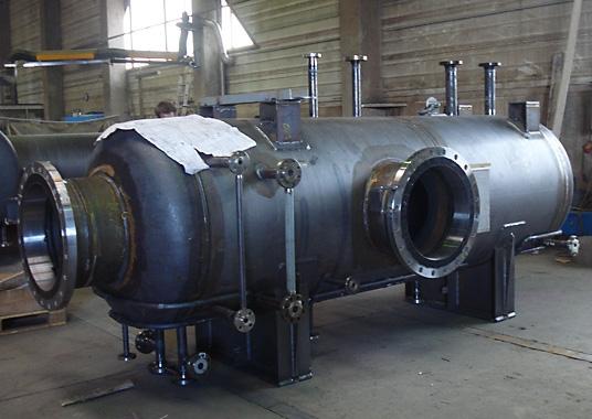 Druckbehälter für TGU-Anlage